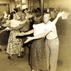 Mexican waltz at American square school 1953.jpg