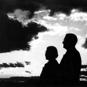 Lloyd and Dorothy Shaw silhouettes